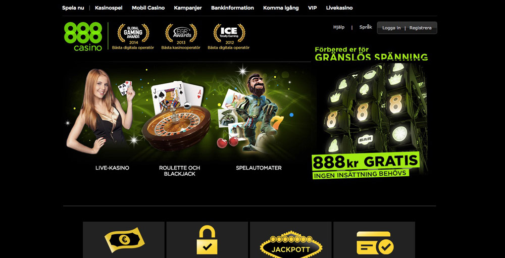 online casino 888 casino spile