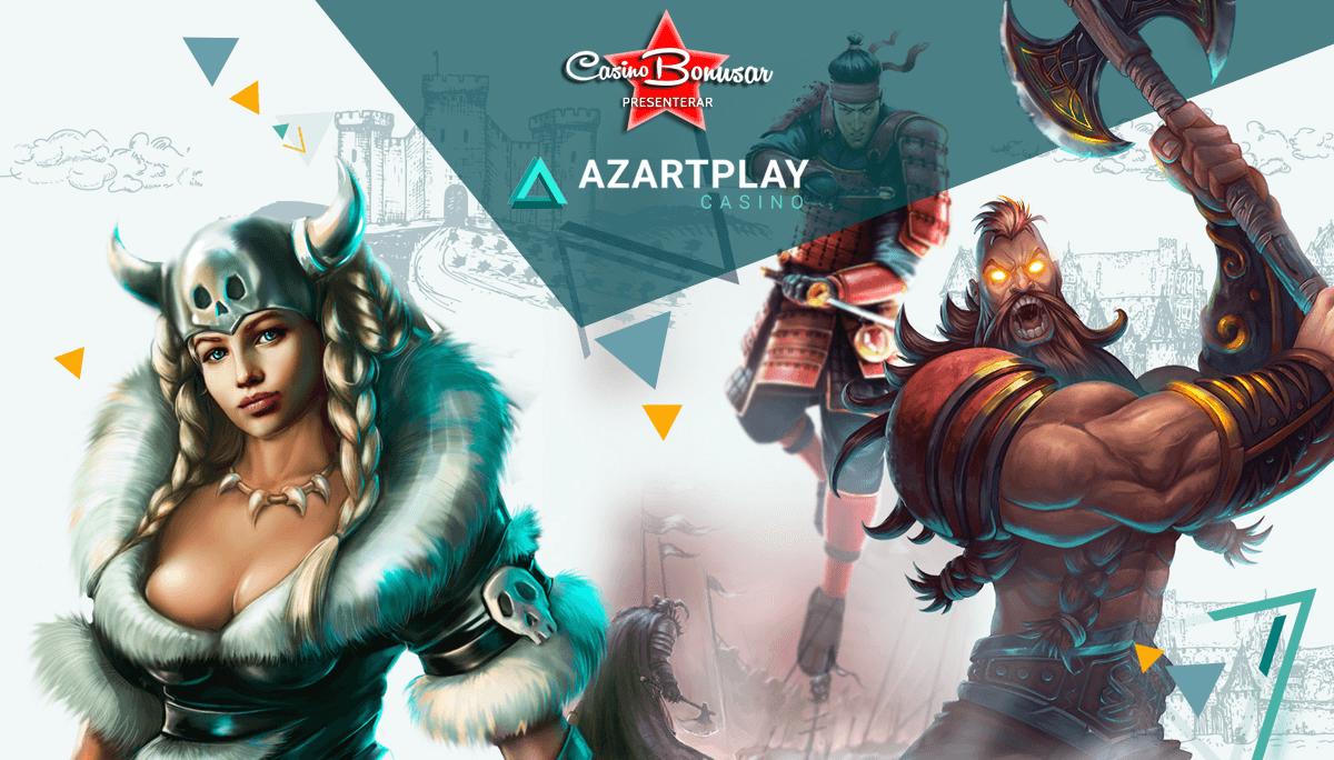Läs om Azartplay Casino hos Casinobonusar.nu