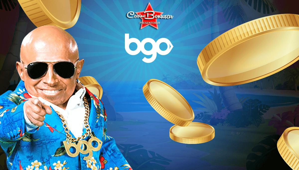 BGO casino hos Casinobonusar.nu