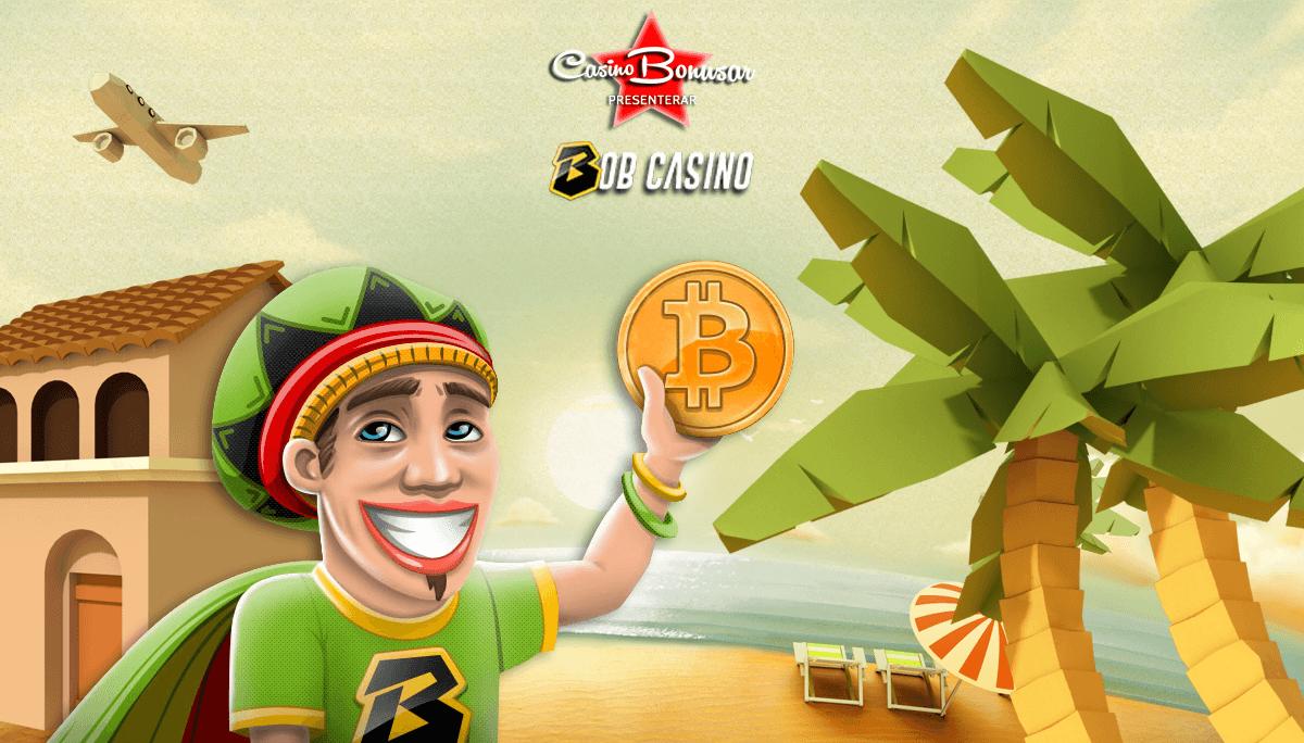 Spela hos Bob Casino bland härliga spelautomater