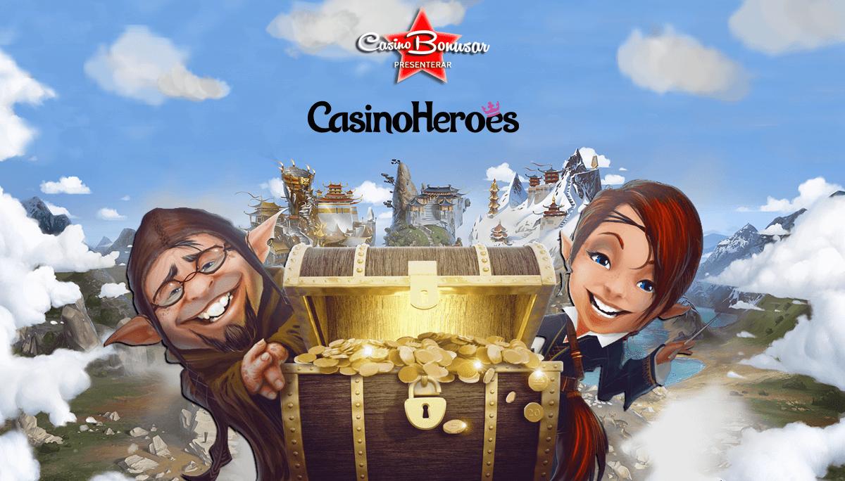 Upplev med Casino Heroes med fler bonusar