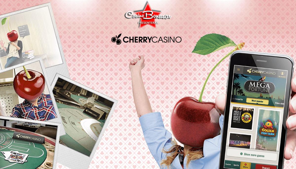 Cherry Casino - FГҐ 100 free spins vid registrering!