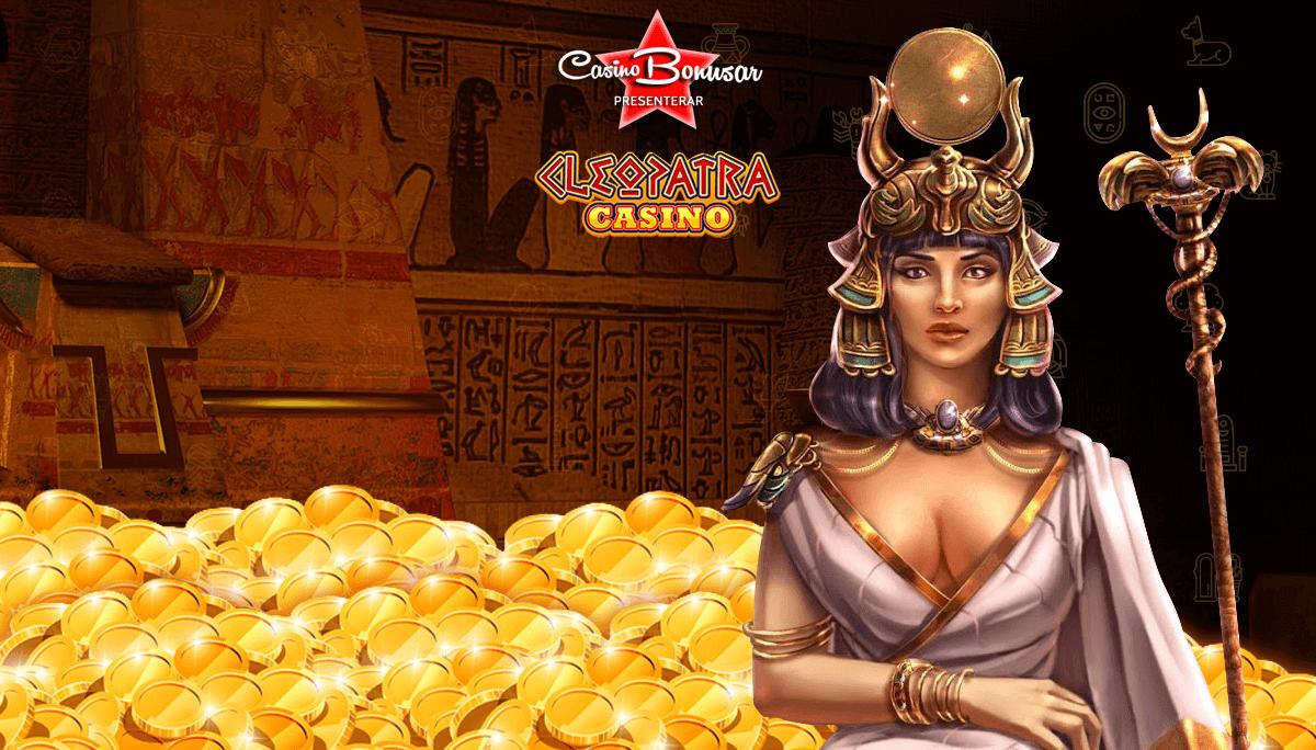 Tjäna casino bonusar hos Cleopatra Casino