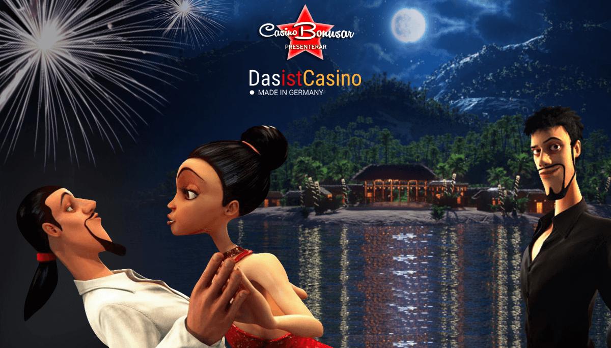Casinobonusar finns hos DasistCasino online