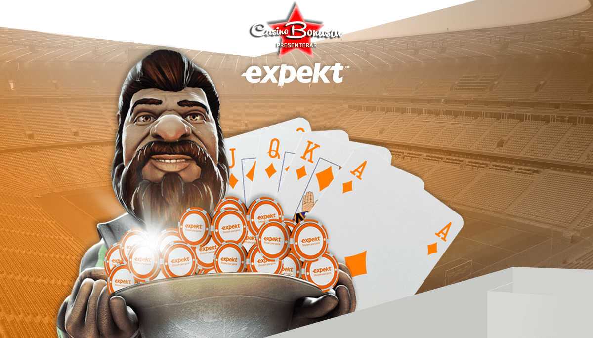 Spela Expekt med casinobonus online