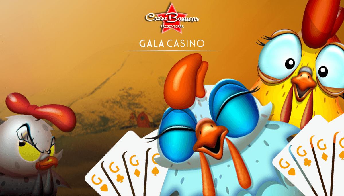 Gala Casino - 10.000 kr + 80 free spins!