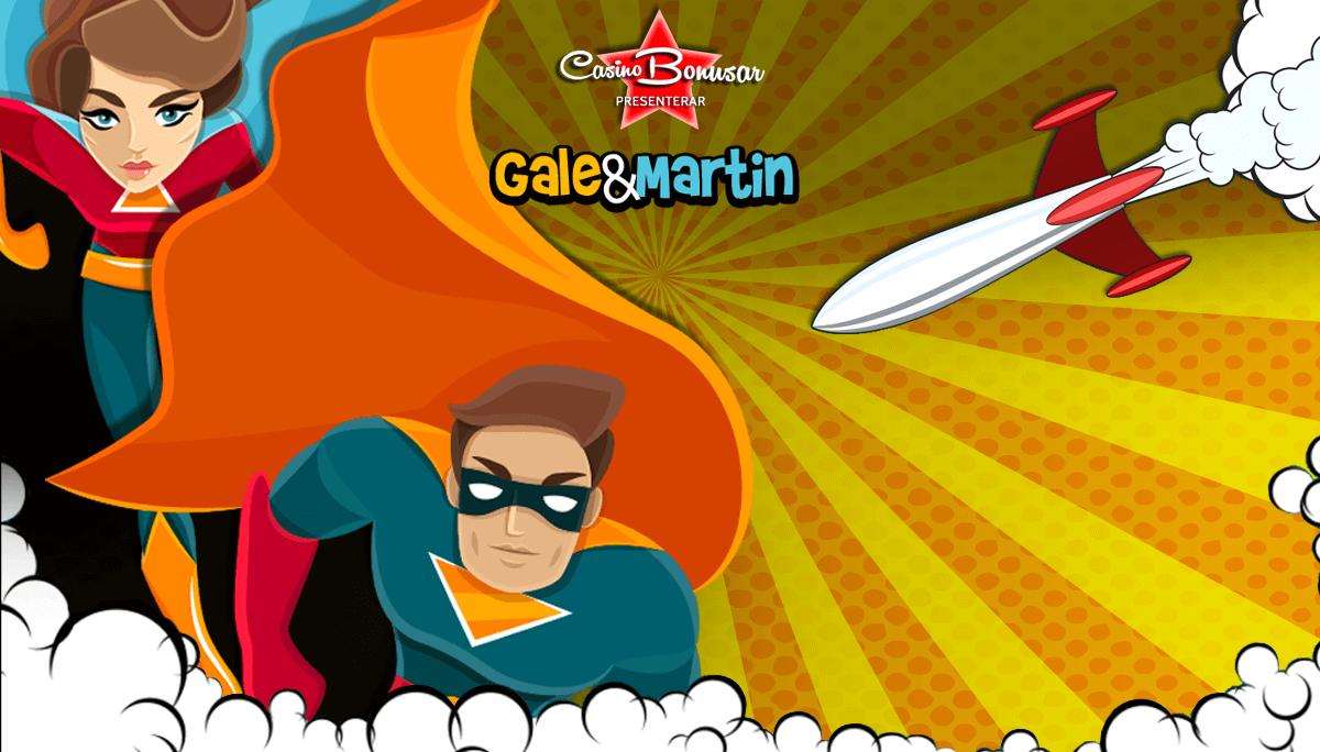Gale&Martin_CasinoBonusar
