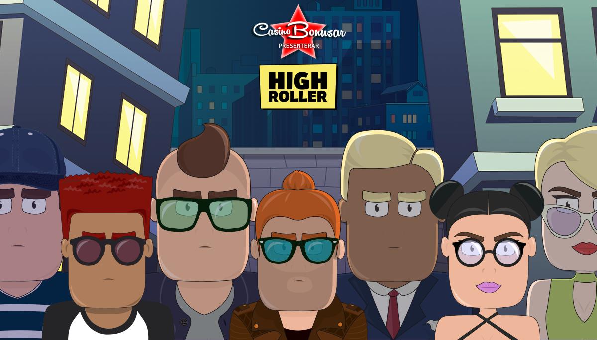 HighRoller casinobonusar