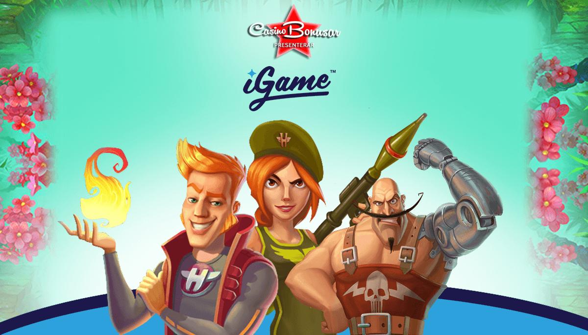 Spela med stora casinobonusar hos iGame