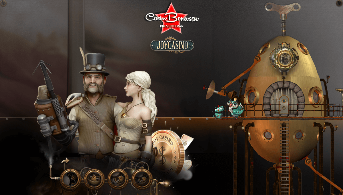 Joy Casino - 20.000 kr + 30 free spins!