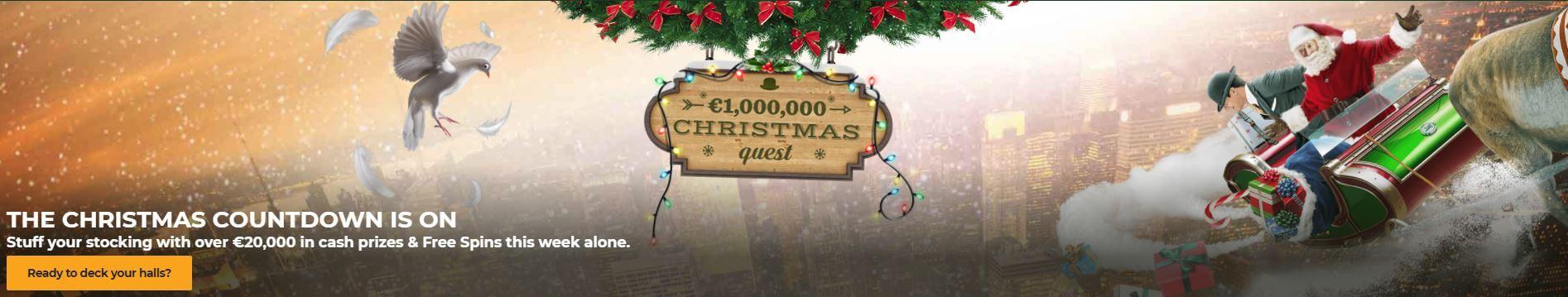 Julkampanj med bonusar varje dag hos Mr Green