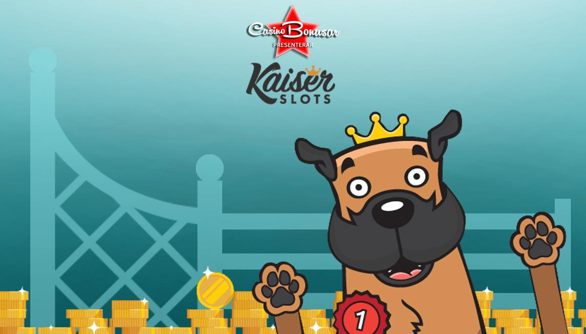 Kaiser Slots casinobonusar