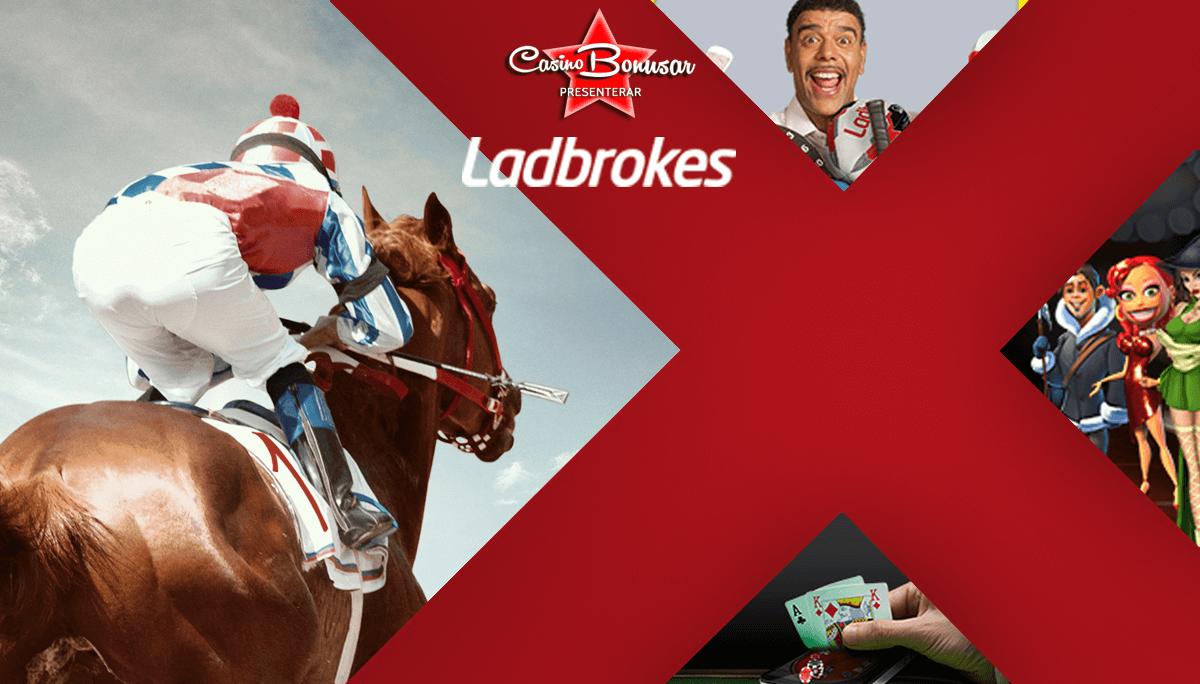 Spela och vinn hos LadBrokes med casino bonus