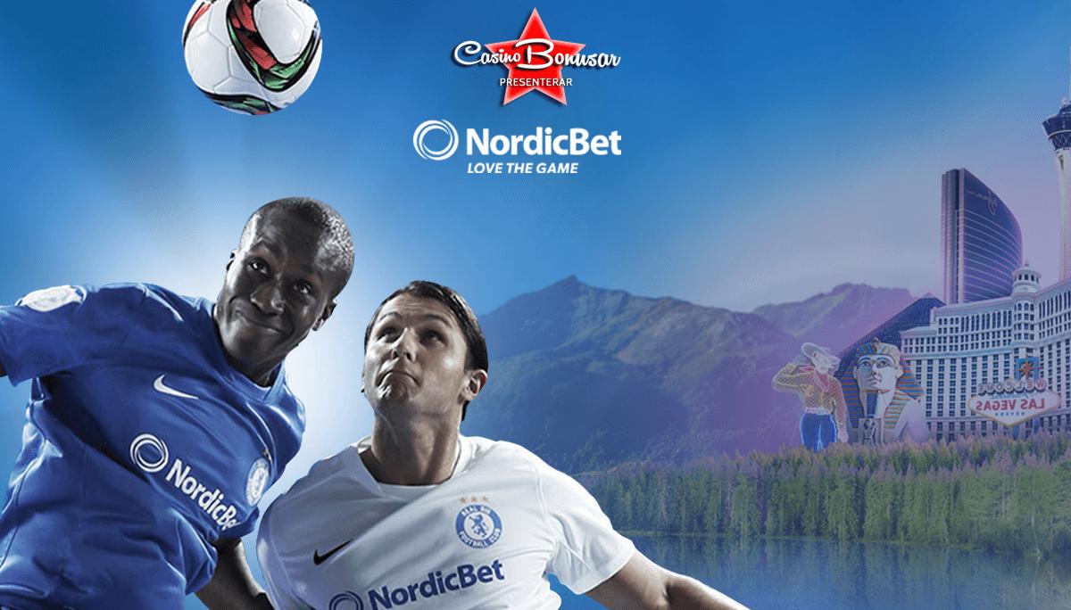 NordicBet - 5200 kr + 100 free spins i bonus!