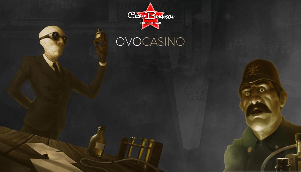 OVO casino - FГҐ 80 kr gratis efter registrering!