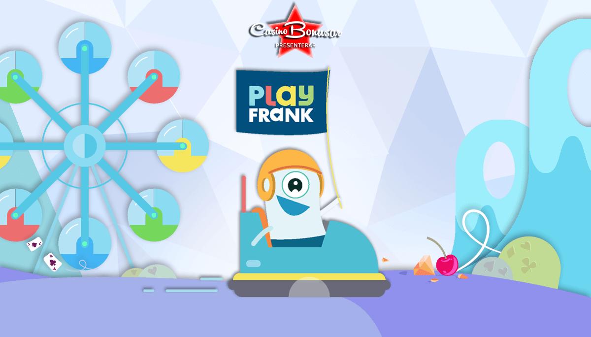 PlayFrank - 4 000 kr + 200 free spins