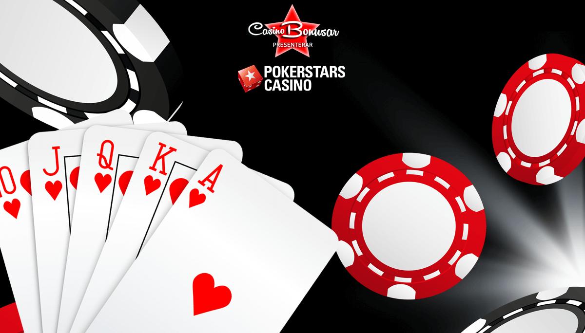 Pokerstars casinobonusar