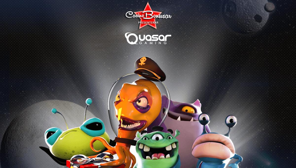 Quasar Gaming casinobonusar