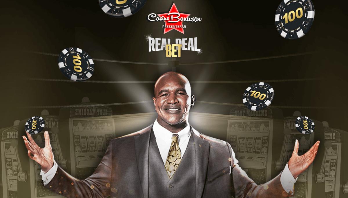 Få casinobonusar vid spel hos Real Deal Bet