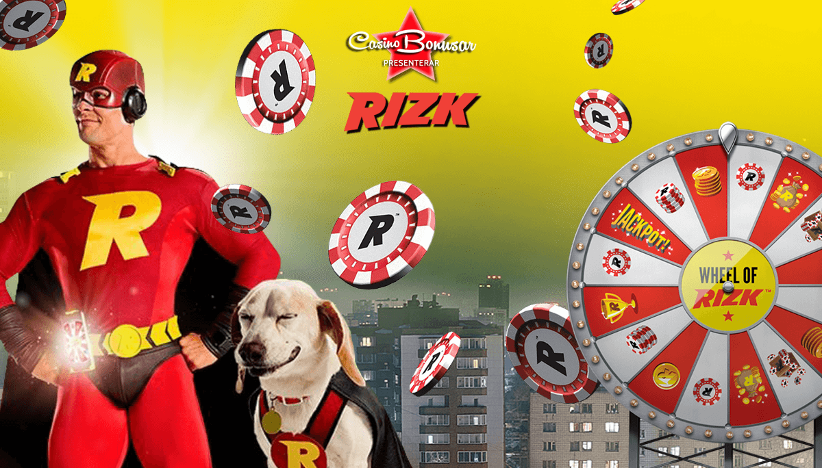 Rizk Casino - 1000 kr + 50 free spins!