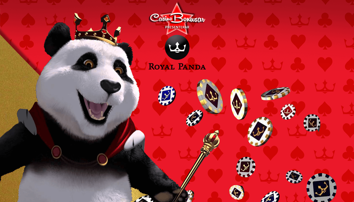 casinobonusar hos royal panda casino