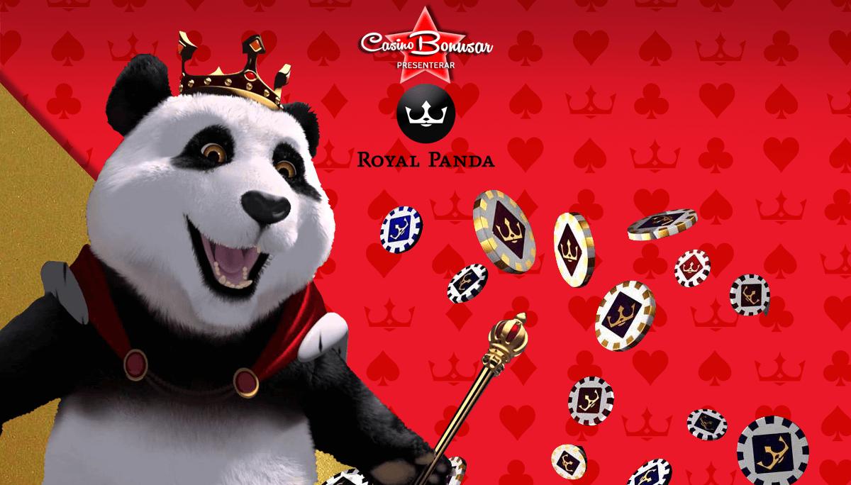 casinobonusar hos royal panda casino
