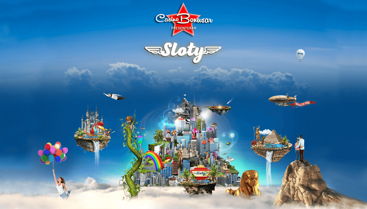 Spela på Sloty Casino online med bonus