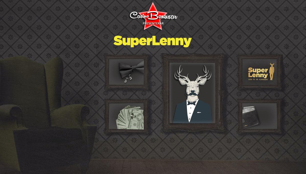 Spela med casinobonusar och free spins hos Super Lenny