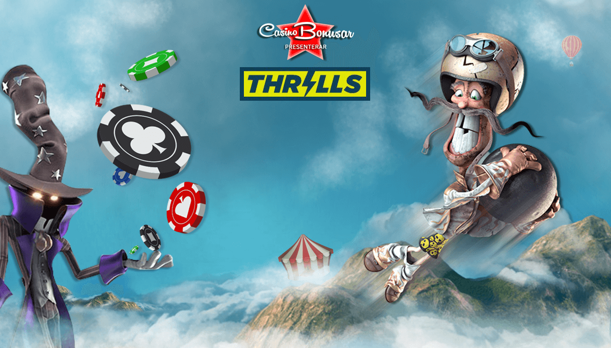 thrills gratis freespins