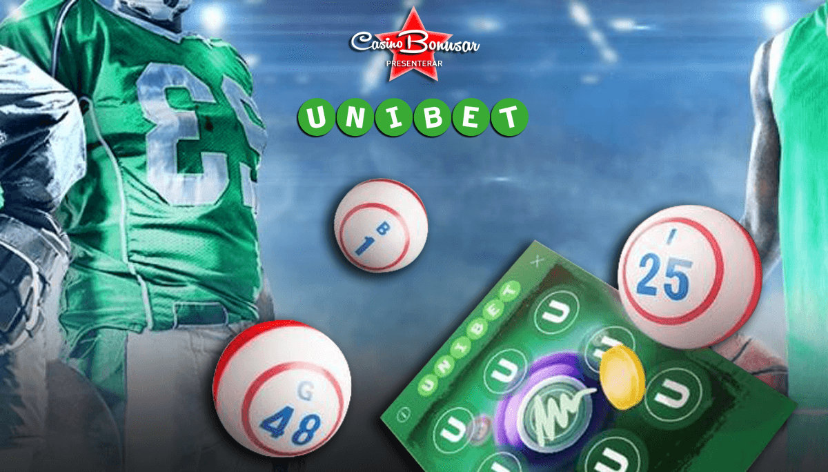 Spela med bonus hos Unibet casino