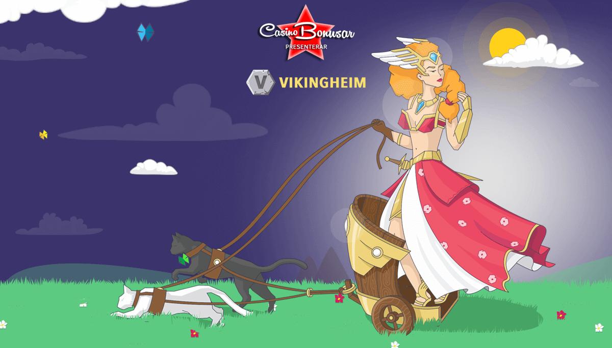 Vikingheim - Sprillans nytt casino med grymma bonusar!