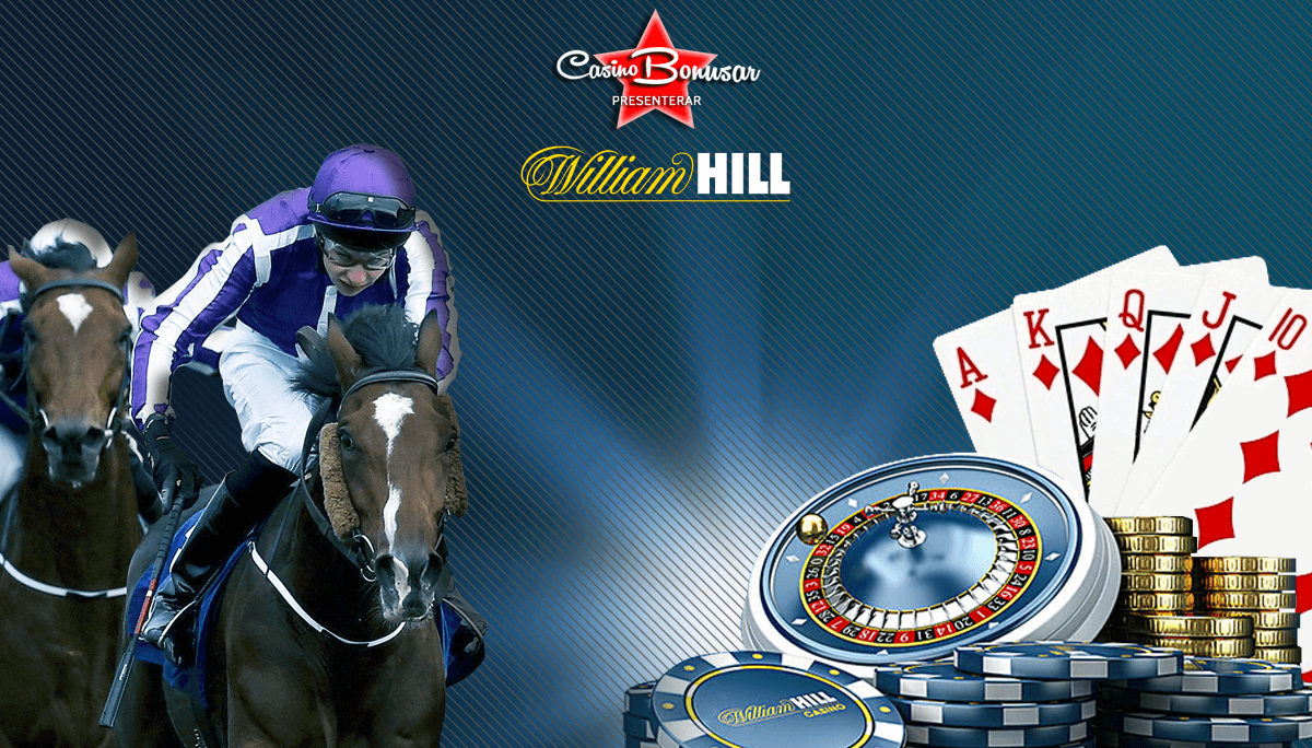 WilliamHill casino med härliga bonusar