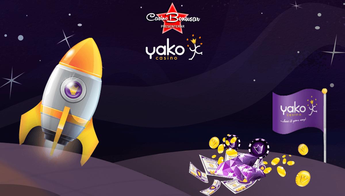 Yako Casino - Upp till 2222 kr + 222 free spins!