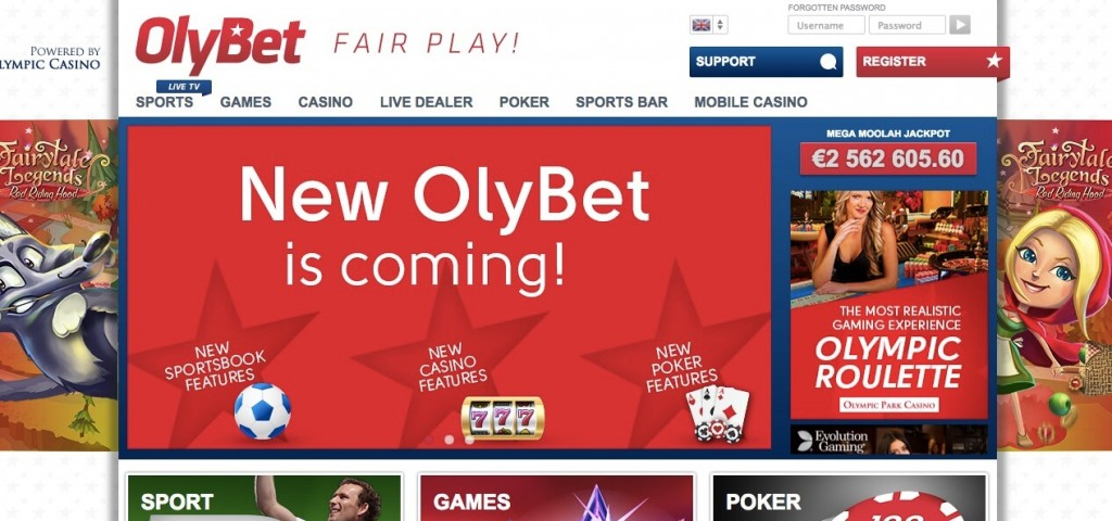 Spela med OlyBet