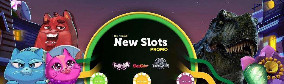 CasinoLuck har nya slots och nya free spins belöningar