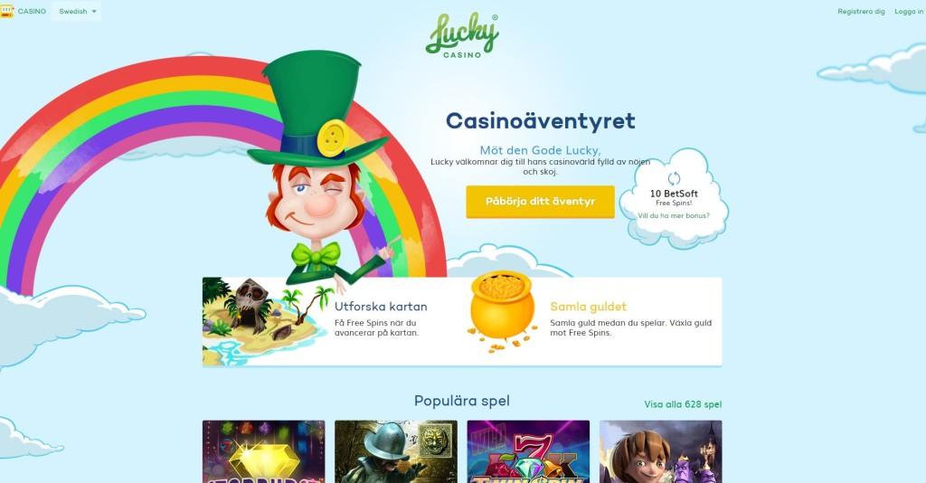 LuckyCasino har exklusiv bonus och free spins shop