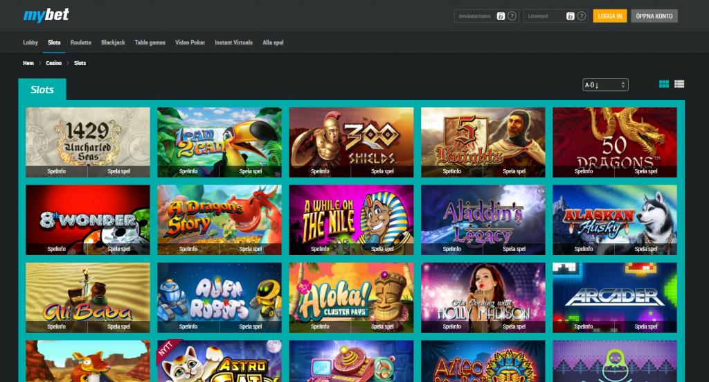 Mybet online casino 3000 kr i välkomstbonus