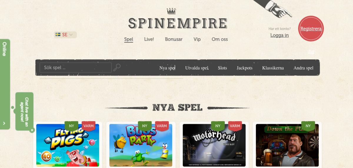 spinempire-start