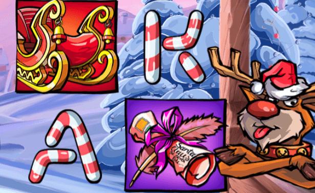 Leovegas julspel spela santa vs rudolf