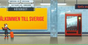 SlotV startsida T-banestationen