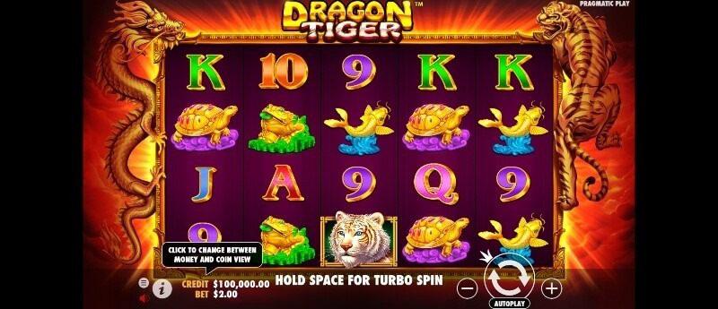 dragon tiger spelfunktioner