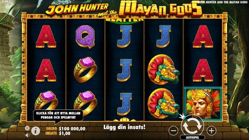 john hunter and the mayan gods slot spelfunktioner
