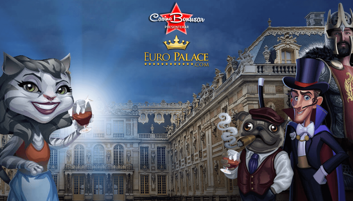 Spela med casinobonusar hos Euro Palace Casino