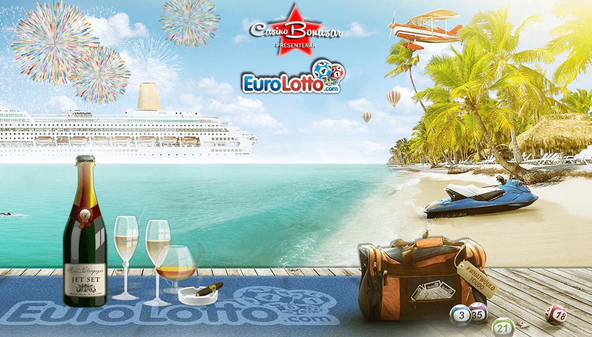 Spela på EuroLotto med casino bonusar idag