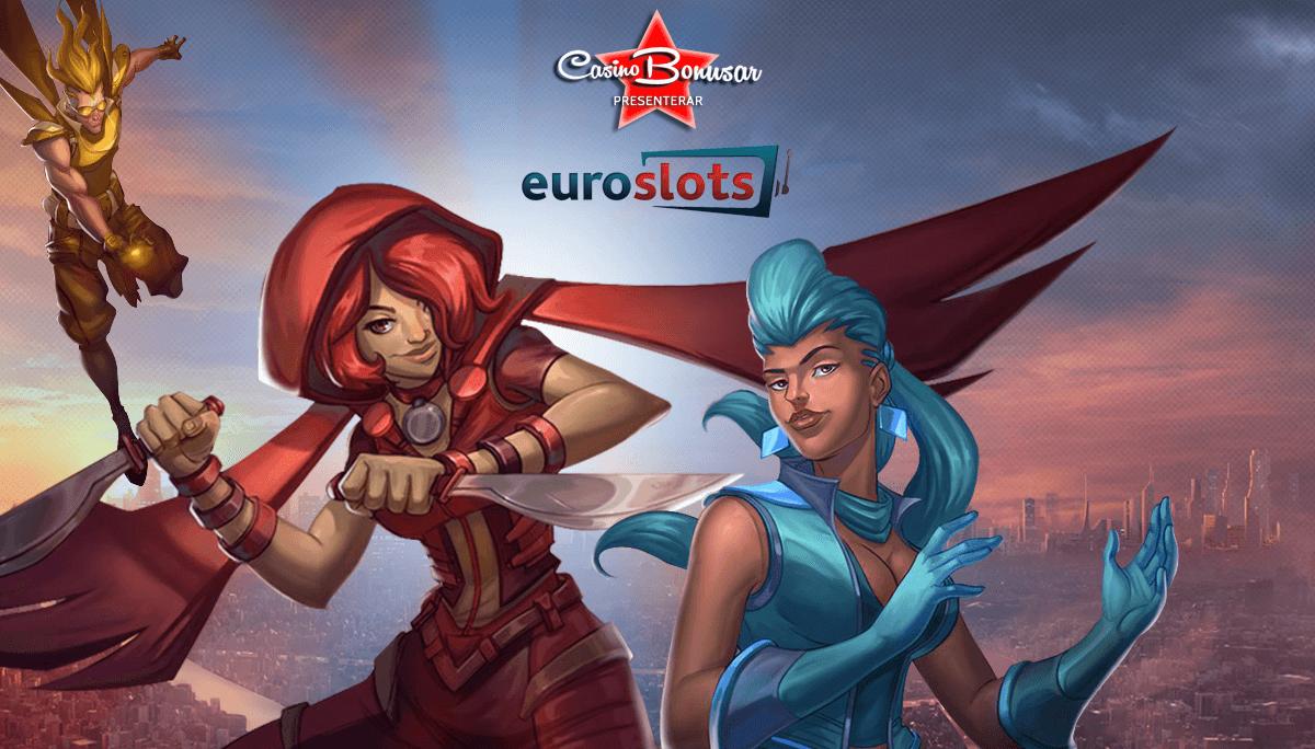 EuroSlots har casinobonusar till nya spelare