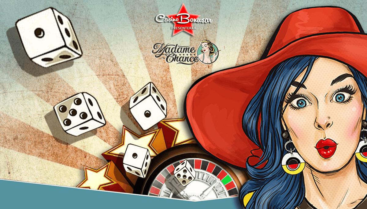 Spela med casinobonusar hos Madame Chance