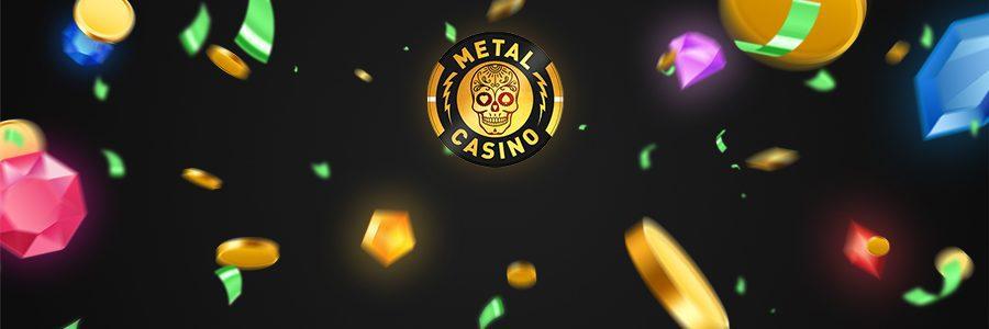 Metal Casino banner