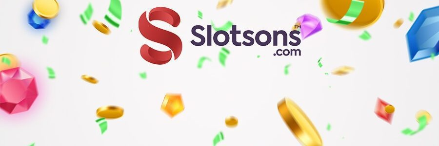 Slotsons casino banner