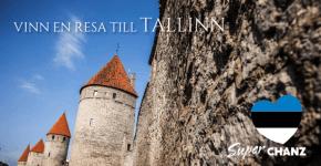 Chamz utlottning resa Tallin